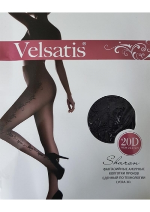 """Колготки с рисунком """"Velsatis"""""""